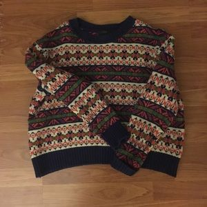 J.Crew fair isle sweater